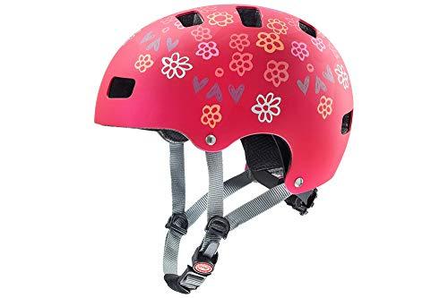 Uvex Fahrradhelme für Kinder, Rot, 51-55 cm