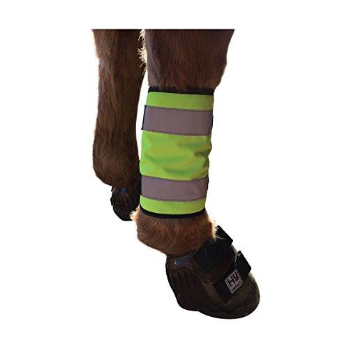 Weste HyVIZ Reflektor Pferd Bein Packungen