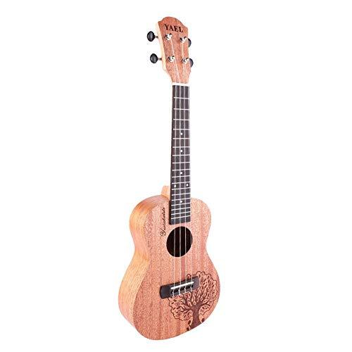Bnineteenteam Ukulele di Mogano per concerti Professionali Ukulele Hawaii Guitar Electric Ukulele a 4 Corde per Principianti e Professionisti