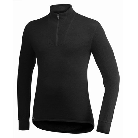 Woolpower 400 Turtleneck Long Sleeve Zipp Shirt Men - Thermounterwäsche (Merinowolle Kurz Unterwäsche)