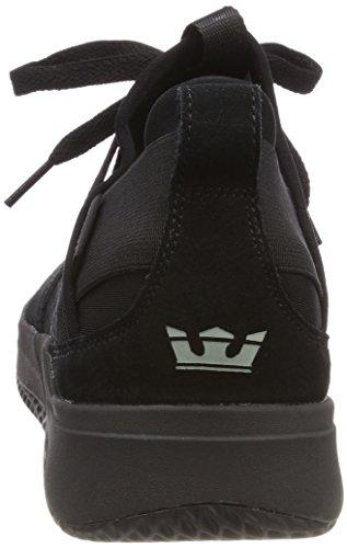 Supra Herren Titanium Sneaker Schwarz (Black)