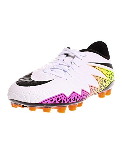 Nike Unisex Baby Jr Hypervenom Phelon Ii Ag Fußballschuhe Blanco (White / Black-Total Orange-Volt)