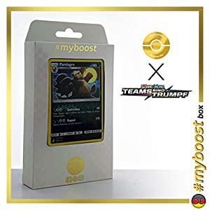 Pandagro (Pangoro) 94/181 Holo Reverse - #myboost X Sonne & Mond 9 Teams Sind Trumpf - Box de 10 Cartas Pokémon Alemán