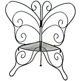 ZI LING SHOP- Marco de flores de esquina de estilo de mariposa de hierro puede montar racks de flores Flower racks