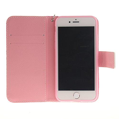 Iphone 7 Hülle, Linvei leder Hülle für Iphone 7 Flip Case ,Magnetic closure Apple 7 hülle, Schutz vor Dreck für Iphone 7 Taschen Schale Color 38