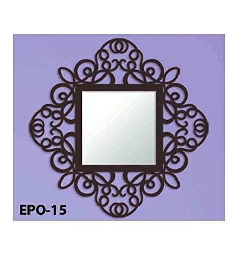 Espejo-de-forja-Mandala-Cromo-oro-color-con-incremento-de-precio