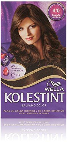 Wella Kolestint Bálsamo color Castaño mediano 4/0