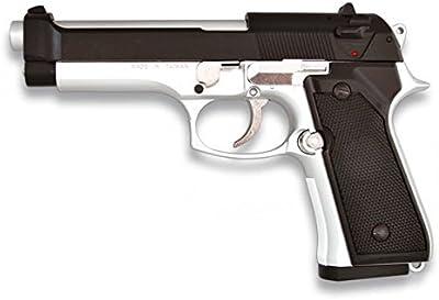 Martinez 35143. Pistola airsoft M92F metálica. Calibre 6mm. Potencia 0,5 Julios