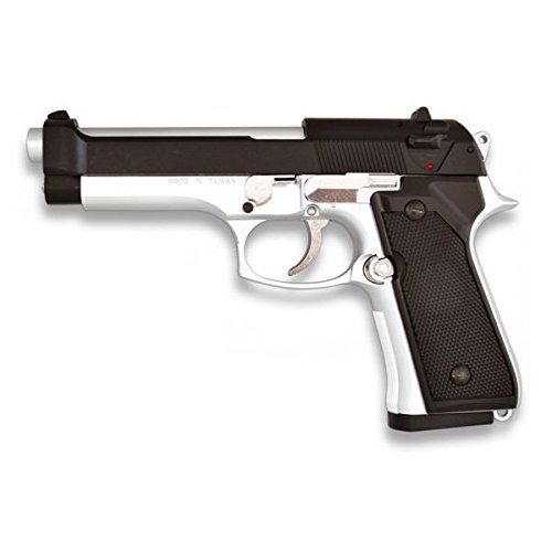 MARTINEZ 35143  PISTOLA AIRSOFT M92F METALICA  CALIBRE 6MM  POTENCIA 0 5 JULIOS