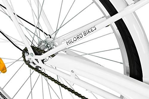 Zoom IMG-3 milord 2018 comfort bike bicicletta