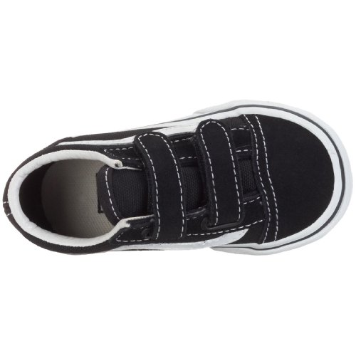 Vans T Old Skool V, Baskets mode garçons Noir