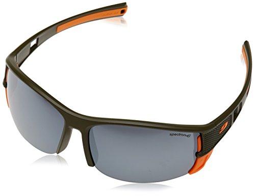 Julbo Sonnenbrille Makalu, Herren, Makalu, Kaki/Orange Sp4, one Size