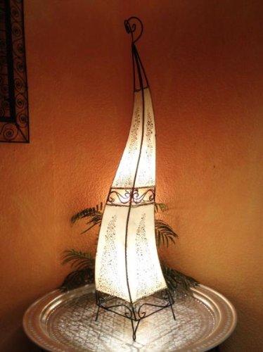 Orientalische Stehlampe Rahaf Natur 120cm
