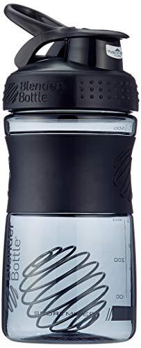 BlenderBottle Sportmixer Tritan Shaker   Protein Shaker   Wasserflasche   Diät shaker Fashion Black (20oz / 590ml) -