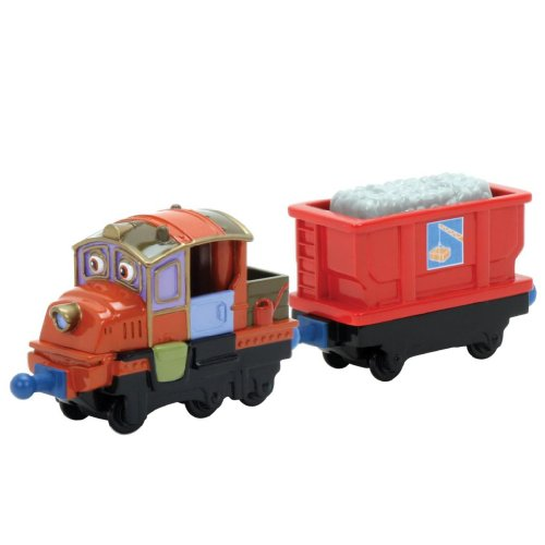 Image of Chuggington Die-Cast Hodge And Hopper Car W/ Removable Cargo - Enjoy The Action-Packed Train Play Toy / Game / Play / Child / Kid