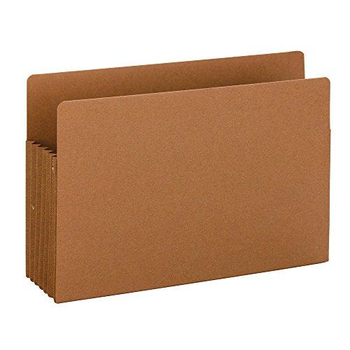 Tab End Datei-jacke (SMEAD End Tab Tuff® Datei Tasche, verstärkte gerade geschnittene Tab, 5–1/10,2cm Expansion, Tyvek® Zwickel, extra breit gesetzlichen Größe, Redrope, 10Stück pro Box (74790))
