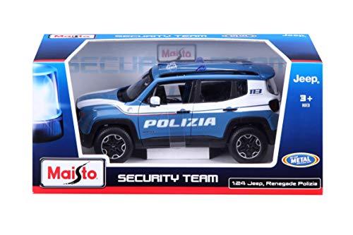MacDue Italy Auto Die Cast Scala 1:24, Farbe Hellblau, 31520