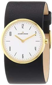 Jacques Lemans - DC-532 - Montre Femme - Quartz - Analogique - Bracelet Cuir Noir