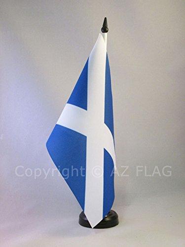 AZ FLAG TISCHFLAGGE SCHOTTLAND 21x14cm - Schottische TISCHFAHNE 14 x 21 cm - flaggen