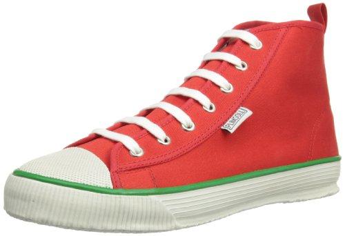 Plimsoll Hi, Baskets Hautes homme Rouge - rouge