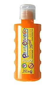 PlayColor Gouache líquido Pintura 19641, Naranja neón