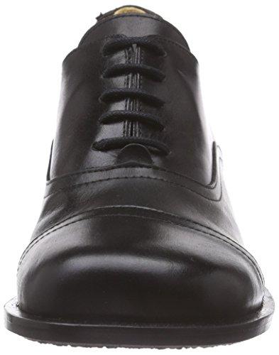 John W. Shoes Kanda, Oxfords femme Noir - Noir