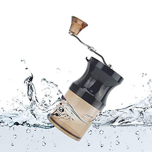 PowerBH Komfortable Klapp Einstellbare Hochwertige Manuelle Kaffeemühle Manuelle Kurbel Einstellbare Mühle Kleine Haushaltsmühle Mini Mühle -