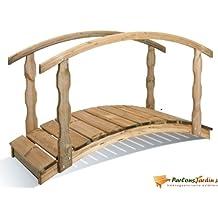 Pont de jardin en bois Québec petit modèle