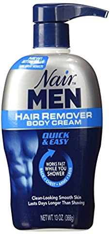 Nair Hair Remover Men Body Cream 385 ml Pump by Nair