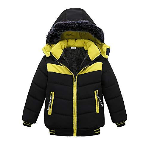 Topgrowth Cappotto Bambina Ragazze Invernale Autunno Capispalla in Pelliccia Sintetica Caldo Giacche Giubbotti Cappotti Patchwork Outwear