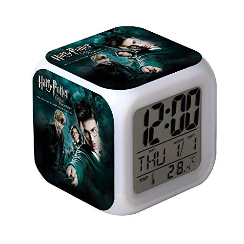 Hili watch Reloj Despertador electrónico Harry Potter