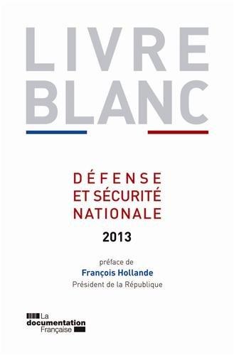 Livre blanc sur la Défense et sécurité nationale 2013