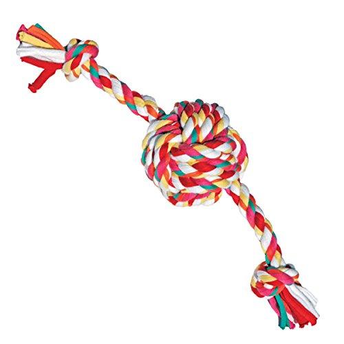 Rosewood Twistables algodón Cuerda Bola Tug Perro