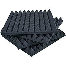 Placas de espuma con relieve piramidal de 6cm (20 unidades, 50 x 50 x 6 cm)