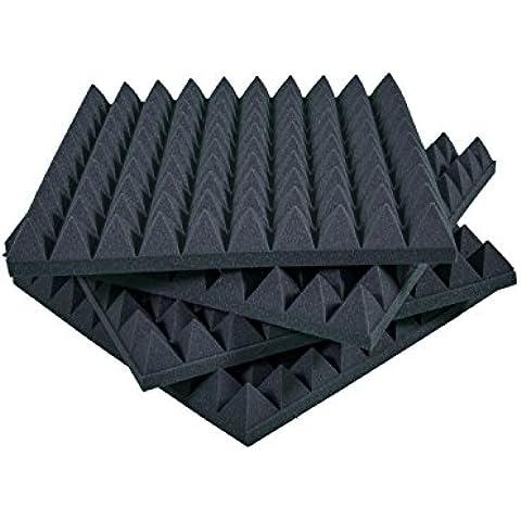 Pannelli Fonoassorbenti Isolanti acustici 50x50x6 D21 pacco da 20