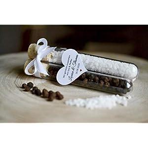 1-100 Paar – Salz und Pfeffer als Gastgeschenke zur Hochzeit