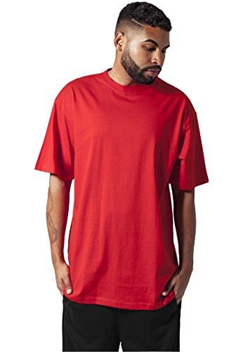 Urban Classics Tall Tee T-Shirt TB006-2, size:5XL;Farbe:rot -