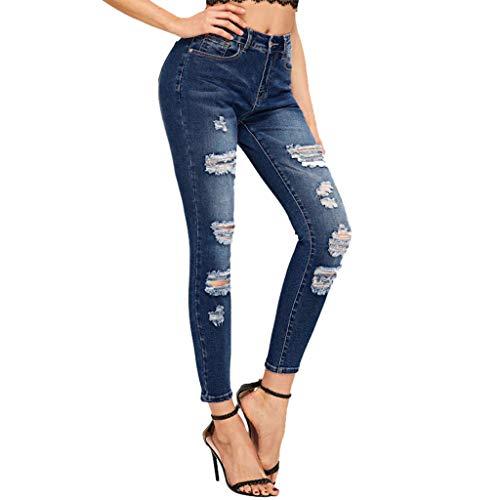 Produp Damen Niedrige Taille Sexy Jeans Mode Stretch Dünne Bleistifthosen -