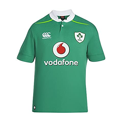 CANTERBURY Classic Polo de rugby à manches courtes Irlande Home