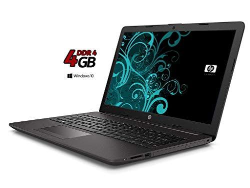Ordinateur Portable HP 255 G7,15.6 AMD A4 2,60 GHz Turbo Ram 4 Go DDR4/HDD 500 Go,Radeon R3 Graphic, Windows 10 Professional,Bureau,USB 3.0/WiFi/,Clavier QWERTY Italien