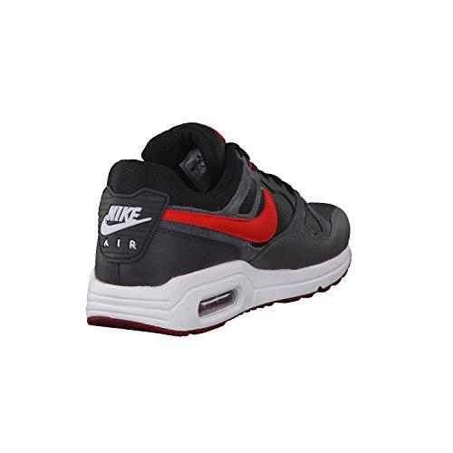 Nike Nike Air Max-Span, Laufschuh Herren Schwarz - Noir, gris et rouge