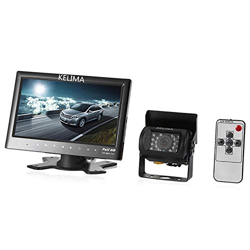 7 Inches TFT LCD Car Monitor 18IR LED Camera Wireless Version Display Camera Reverse Assistance Camera Parking System -