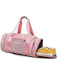 617e030661be3 Sporttasche Frauen - Belegao Wasserdicht Fitnesstasche Reisetasche mit  Schuhfach Groß Gym Fitness Sport Tasche Handgepäck Weekender…