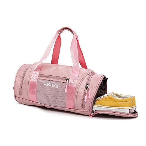 Borsa da Palestra Sportiva - Belegao Viaggio Dry Wet Separated Training Duffle Bag Borsa Yoga Borsa Weekend Shoulder Tote Bag Impermeabile con Vano Scarpe per Uomo Donna Bambini