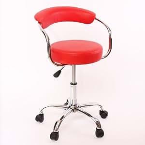 Tabouret/chaise à roulettes Kigali pr cabinet /institut kiné/mas