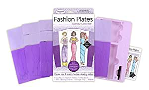 kahootz Assiettes en plastique Fashion 10-glamour