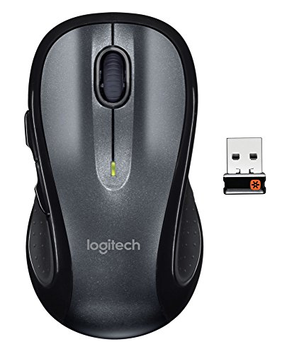 Logitech M510 – mice (RF Wireless, Batteries, Ambidextrous, Office, PC/notebook)