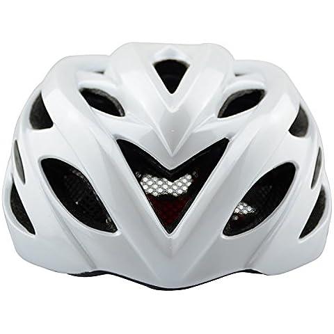 Casco in bicicletta un casco mountain bike strada biciclette caschi accessori di biciclette per cappello , pearl white - Moto Pearl White Moto