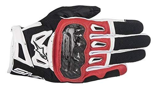 Alpinestars SMX-2 Air Carbon V2 Glove Nero Rosso Bianco L