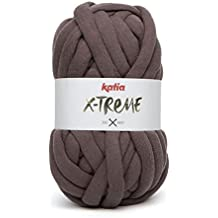 Ovillo de lana XXL Mega Chunky Katia X-TREME 200g para tejer y crochet